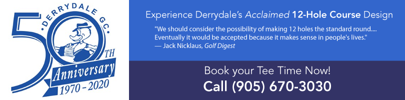 Derrydale golf club in Greater Toronto